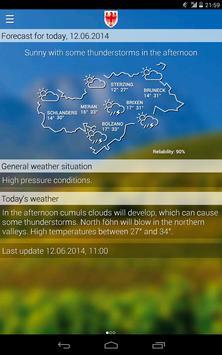 Weather South Tyrol screenshot 7