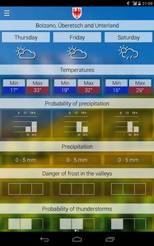 Weather South Tyrol screenshot 8