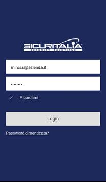 Sicuritalia Travel Security poster