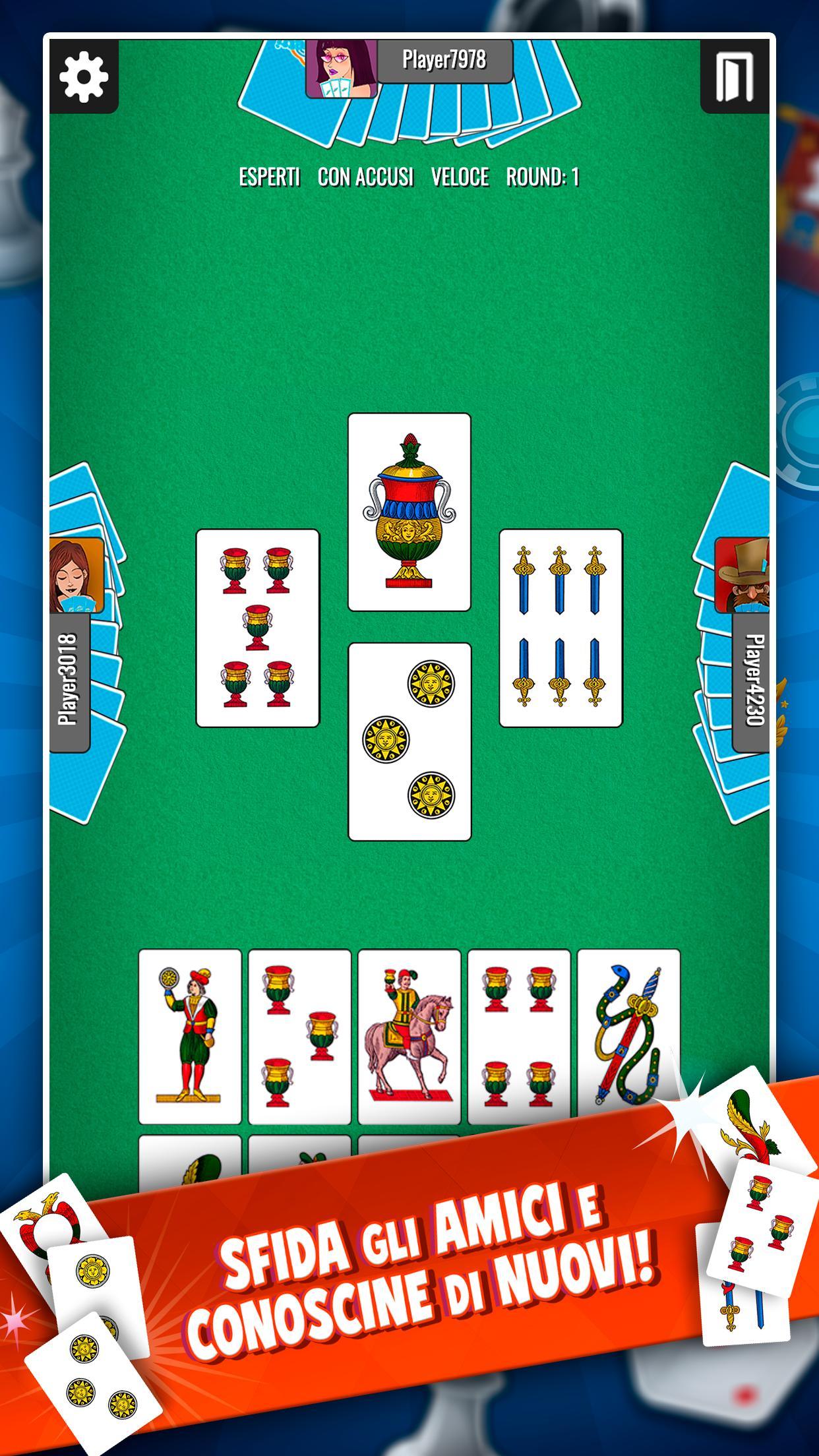 Giochi di carte tresette da scarica