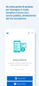 3 Schermata IO, l'app dei servizi pubblici