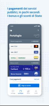 5 Schermata IO, l'app dei servizi pubblici
