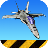 F18 Carrier Landing Lite أيقونة