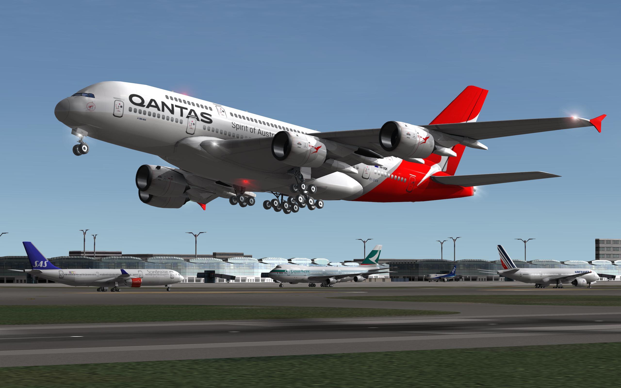 تحميل لعبة الطيران Real Flight Simulator مهكرة 2020