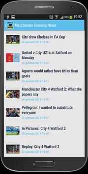 Manchester City FC News screenshot 1