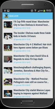 Manchester City FC News screenshot 2