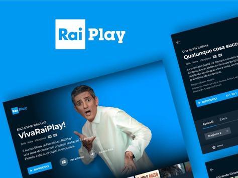 10 Schermata RaiPlay