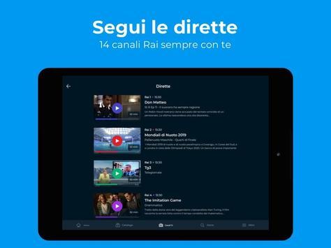 RaiPlay screenshot 14