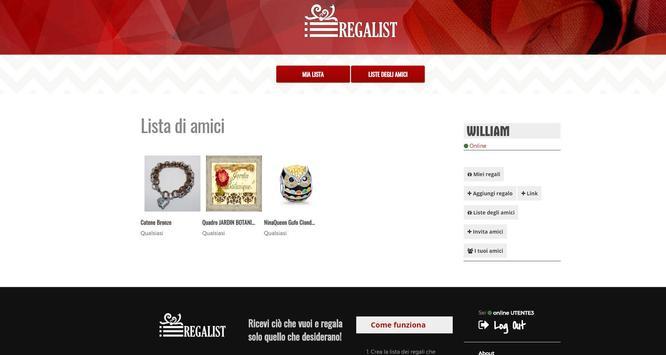 RegaList screenshot 1