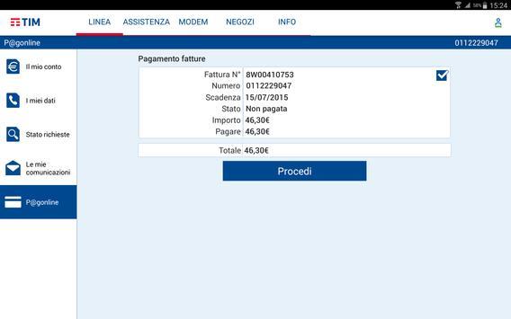 MyTIM Fisso screenshot 6
