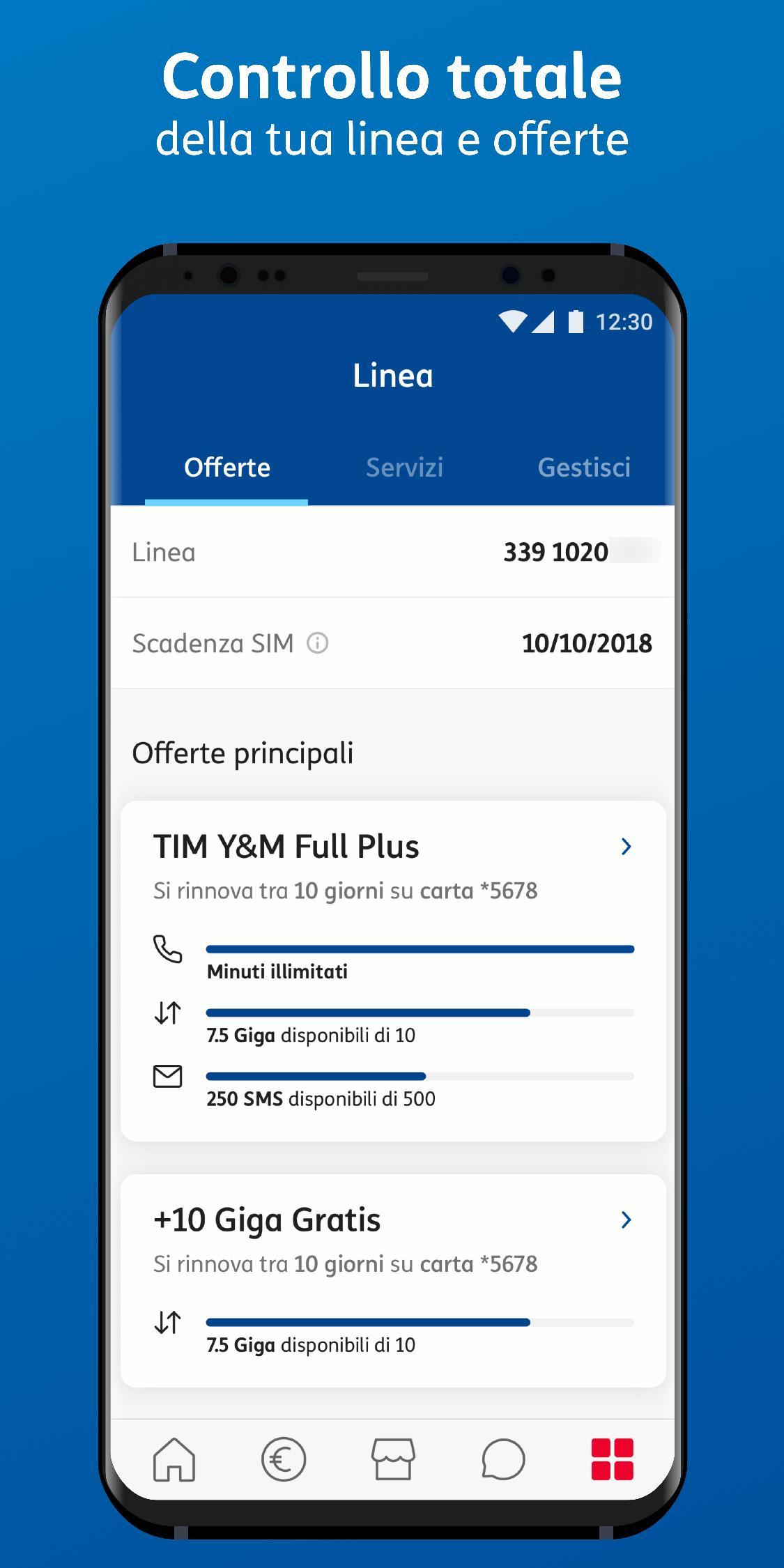 MyTIM für Android - APK herunterladen
