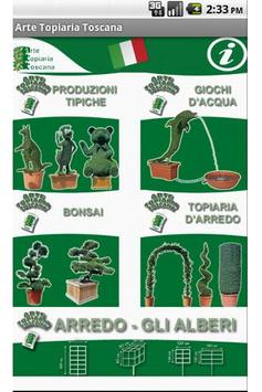 Arte Topiaria Toscana poster