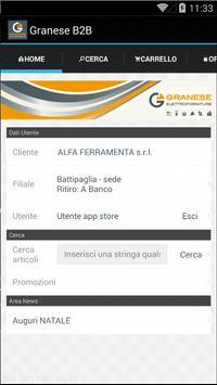Granese B2B screenshot 1