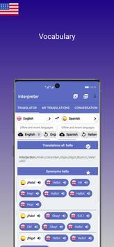 Interpreter screenshot 3