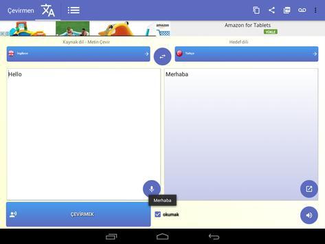 Tercüman Ekran Görüntüsü 8