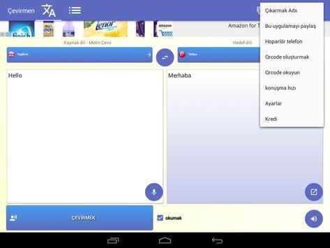 Tercüman Ekran Görüntüsü 11