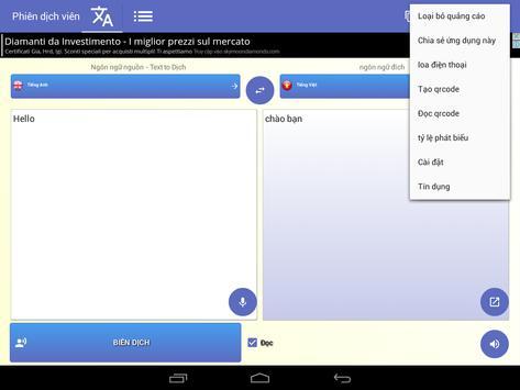 Thông dịch viên phiên dịch bằng giọng nói ảnh chụp màn hình 16