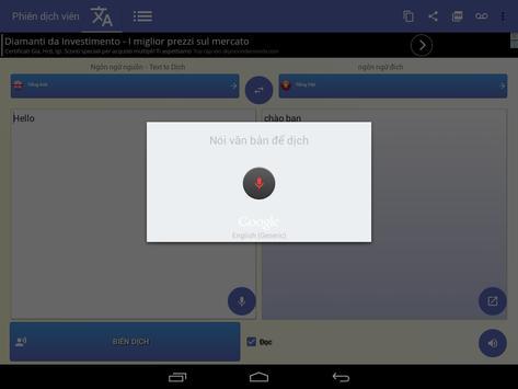 Thông dịch viên phiên dịch bằng giọng nói ảnh chụp màn hình 8