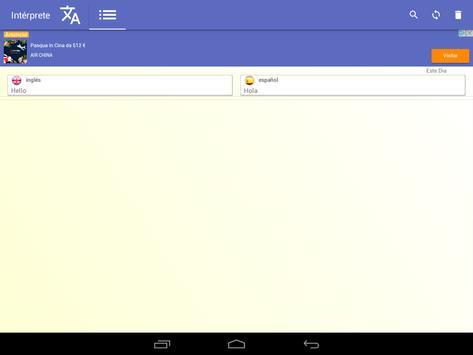 intérprete  voz Traductor traducción 118 idiomas captura de pantalla 18