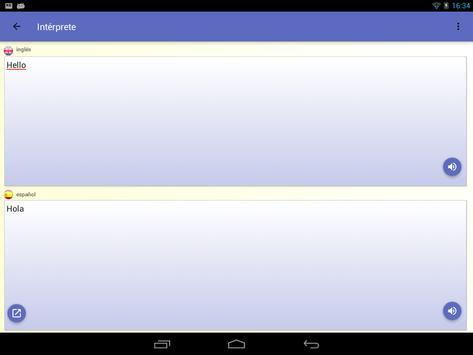 intérprete  voz Traductor traducción 118 idiomas captura de pantalla 21