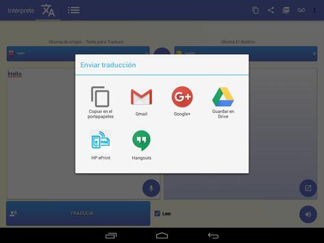 intérprete  voz Traductor traducción 118 idiomas captura de pantalla 12