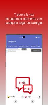 intérprete  voz Traductor traducción 118 idiomas captura de pantalla 1