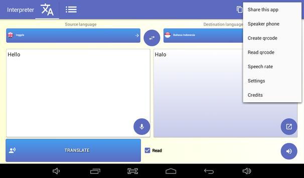 penafsir - penerjemah suara - 100 bahasa 🇮🇩 screenshot 17