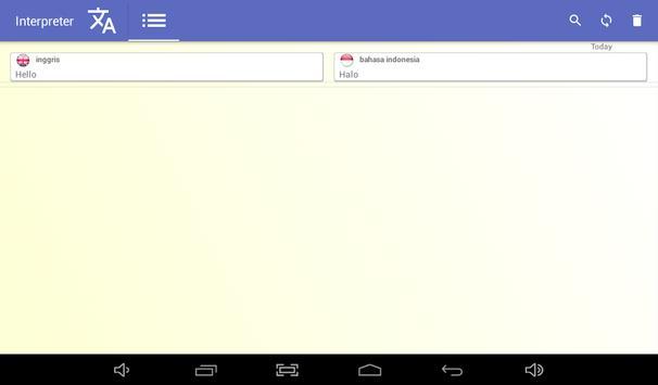 penafsir - penerjemah suara - 100 bahasa 🇮🇩 screenshot 10