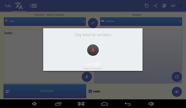 de tolk - vertaler stem screenshot 9
