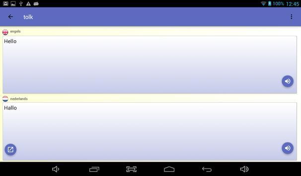 de tolk - vertaler stem screenshot 13