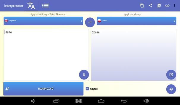Tłumacz - darmo tłumacz głos 🇵🇱 screenshot 12