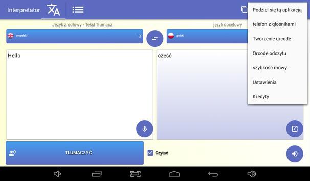 Tłumacz - darmo tłumacz głos 🇵🇱 screenshot 14