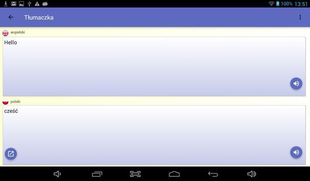 Tłumacz - darmo tłumacz głos 🇵🇱 screenshot 16