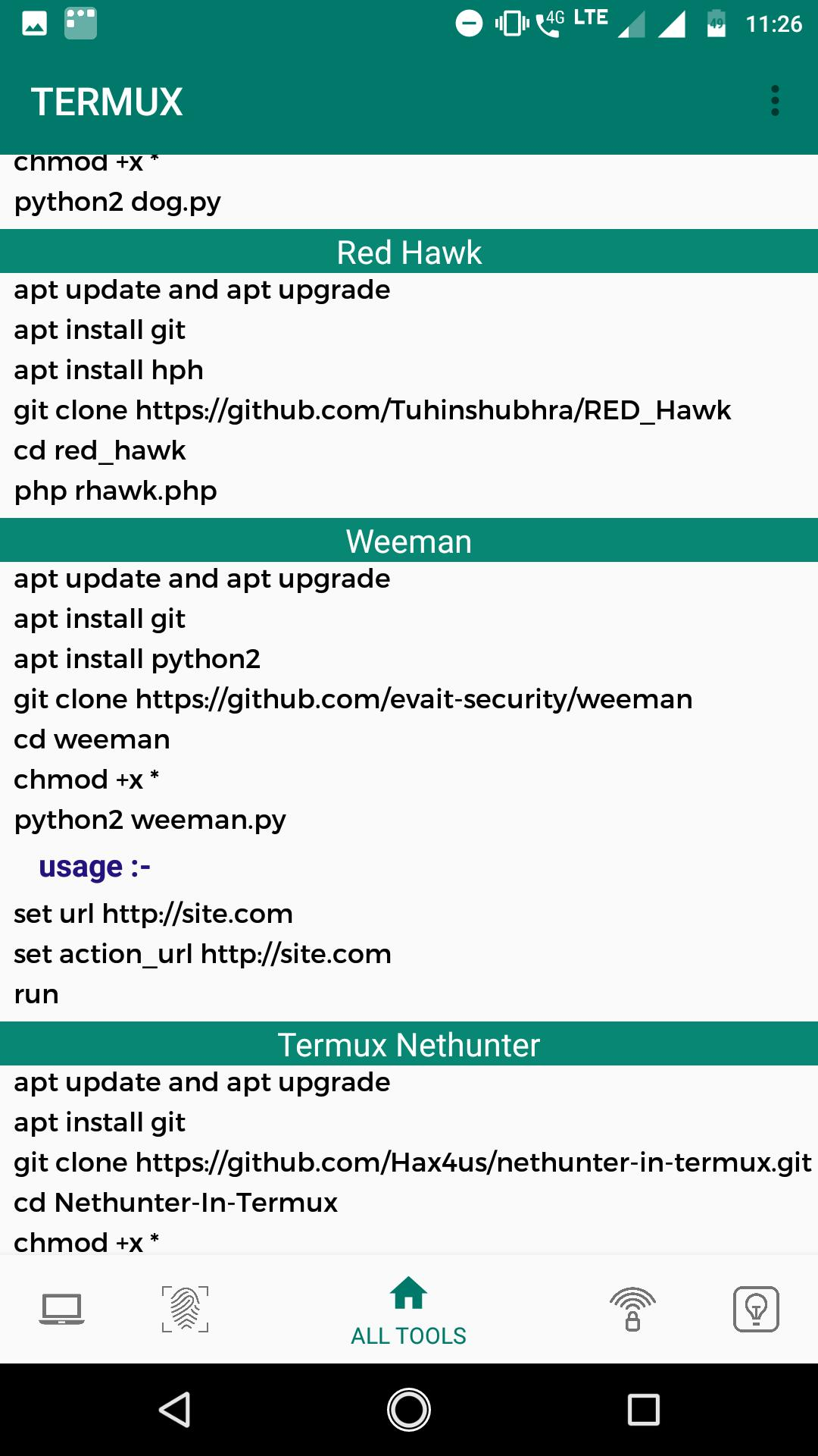 Commands and Tools for Termux for Android - APK Download