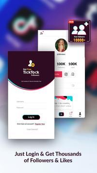 TickTock-Free Tiktok Followers and Fans screenshot 2