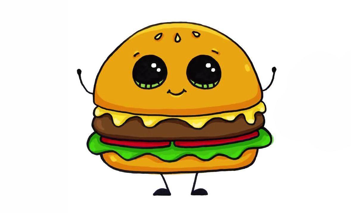 гамбургер картинки с глазами ирландец