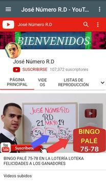 José Número RD poster