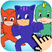 Color By Number Pixel Art Moonlight Hero icon