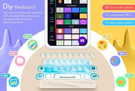 Picture Keyboard - My Photo Keyboard With Emoji 截圖 3