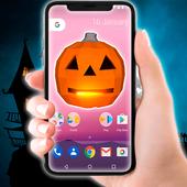Jack O Lantern On the Screen Prank icon