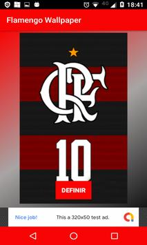 Flamengo Wallpaper - Papel de Parede screenshot 1