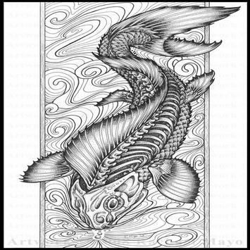 Japanese Tattoo Design V3 screenshot 1