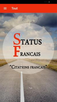 "Status francais ""Citations francais"" screenshot 6"