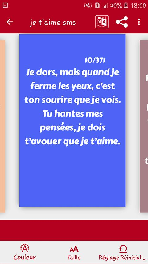 Je Taime Sms Damour 2020 For Android Apk Download