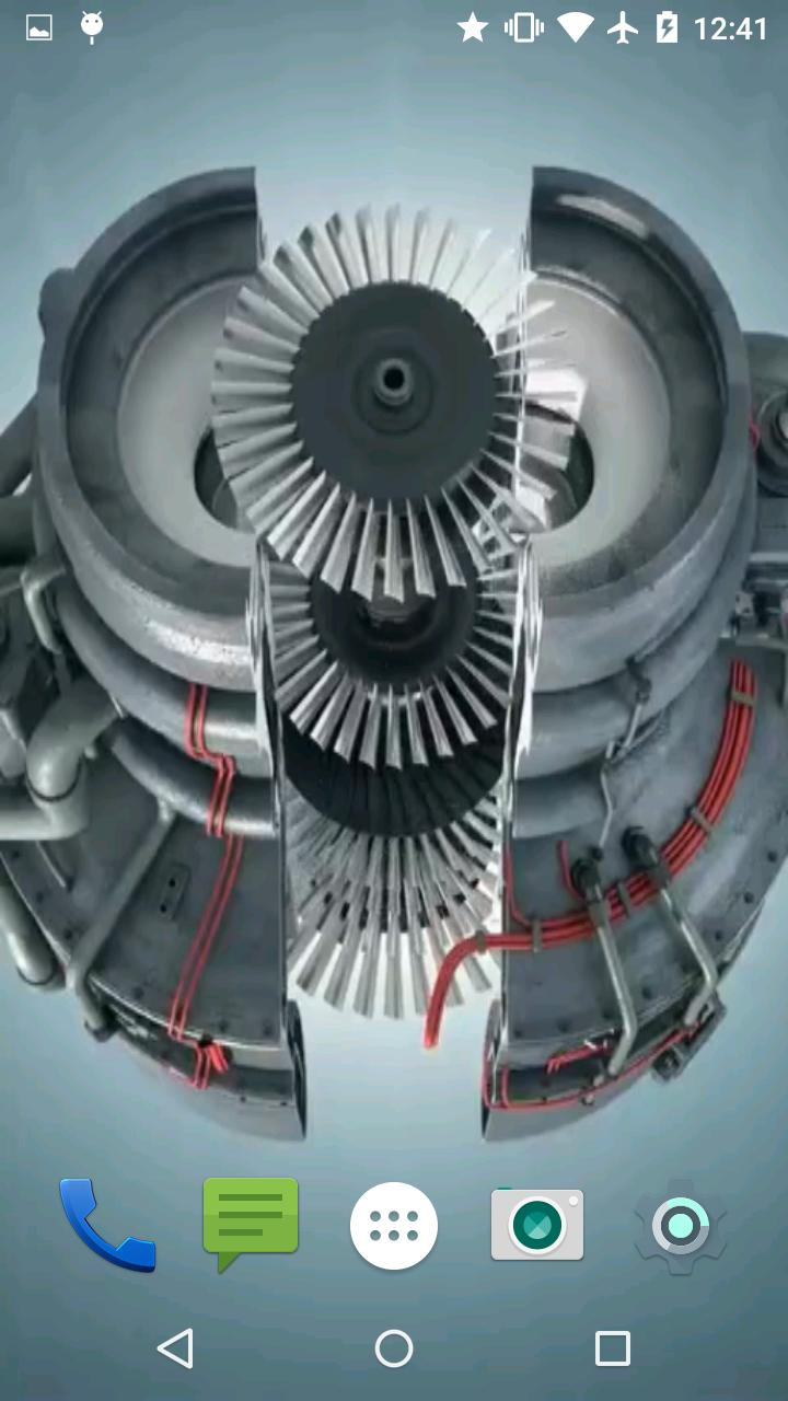 Jet Engine Live Wallpaper Free For Android Apk Download