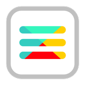 Botón de menú icono