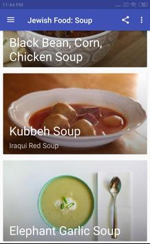 JEWISH FOOD: SOUP screenshot 3