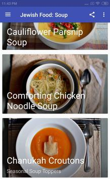 JEWISH FOOD: SOUP screenshot 1