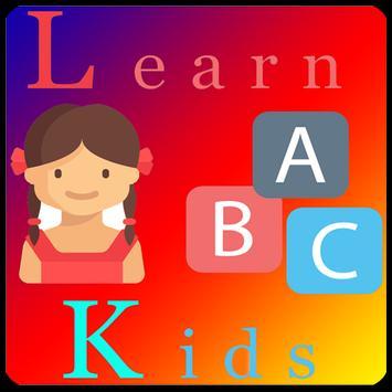 Learn kids poster