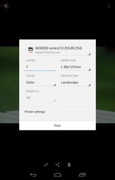 Canon Print Service screenshot 3